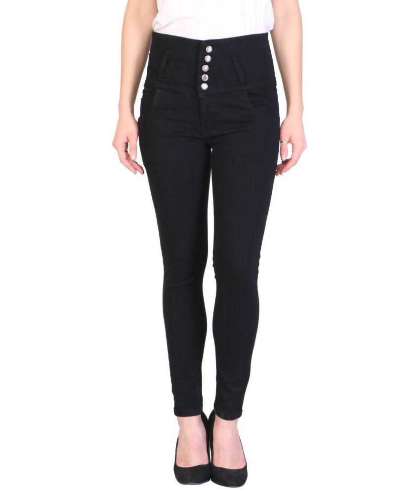 KA Fashion Denim Jeans - Black