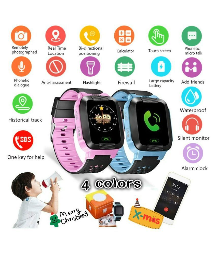 ZXG Unisex Children Tracker Smart Watch Remote GP Wearable Smart Devices