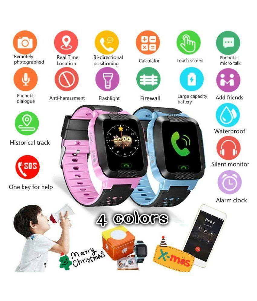 ZXG Unisex Children Tracker Smart Watch Remote GP Wearable Smart Devices