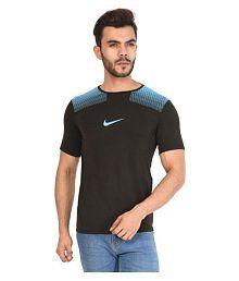 Nike Black Round T-Shirt