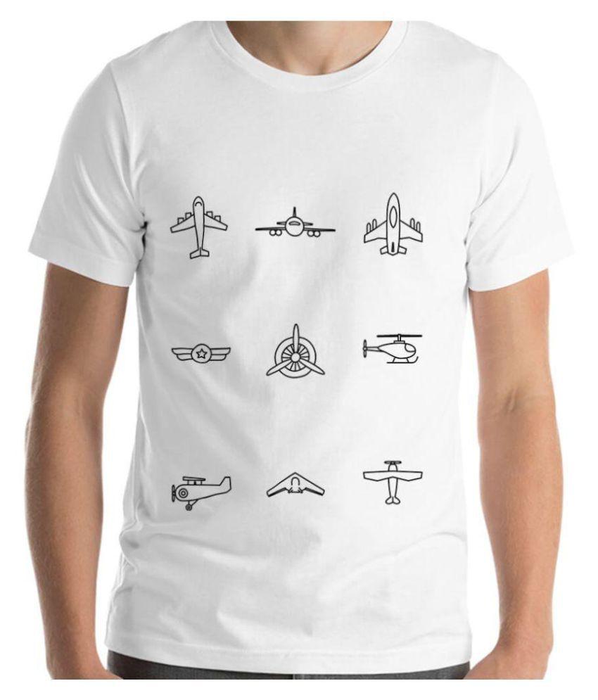 iREPRESENT.iN White Round T-Shirt Pack of 1