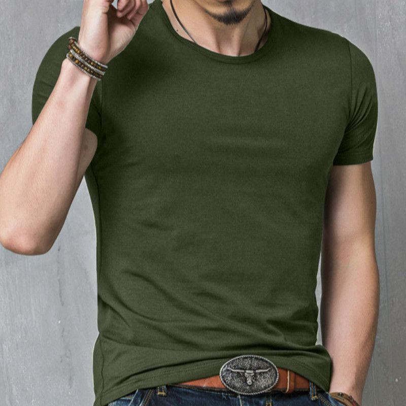 Changing Destiny Green Cotton Blend T-Shirt Single Pack