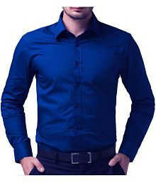 Aman Blue Regular Fit Shirt