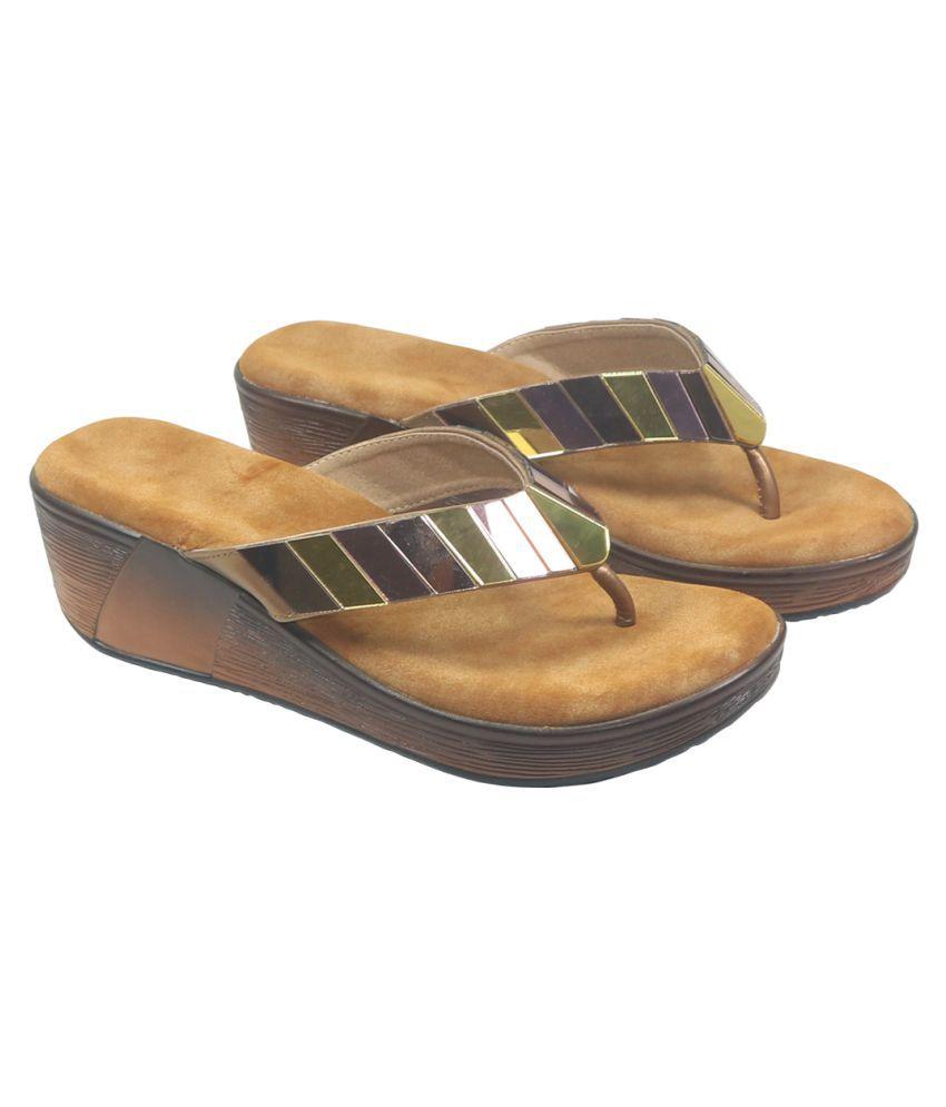 Habit Black Wedges Heels