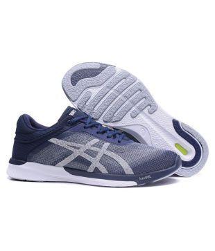 meilleure sélection 6d329 9db9e Asics fuzeX Rush Blue Running Shoes - Buy Asics fuzeX Rush ...