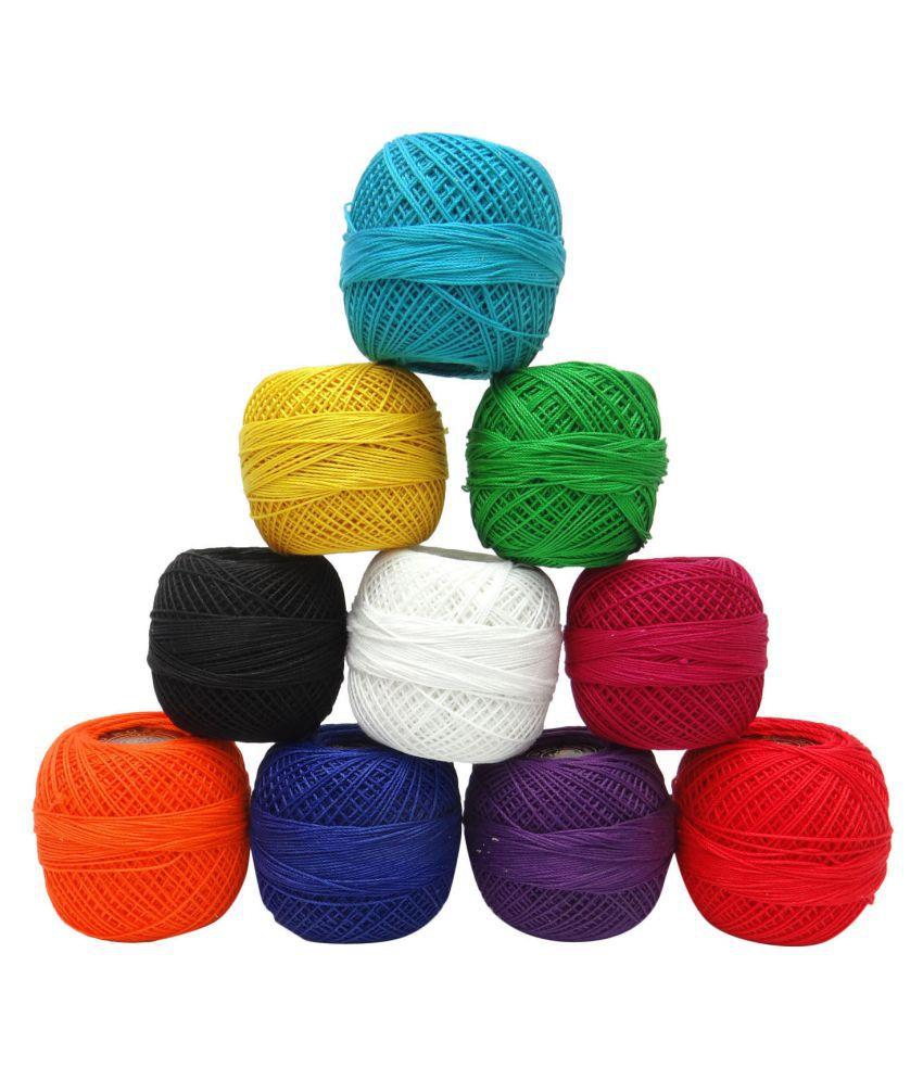 10x20 Grm Thread Mercer Cotton Crochet Thread Yarn Craft Tatting