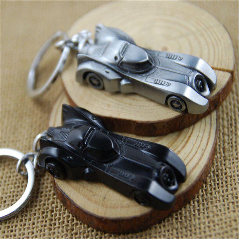 Batman Movie Keychain Batmobile Key Chain & Key Ring Holder Keyring Porte clef Gift Men Women Souvenirs KC50