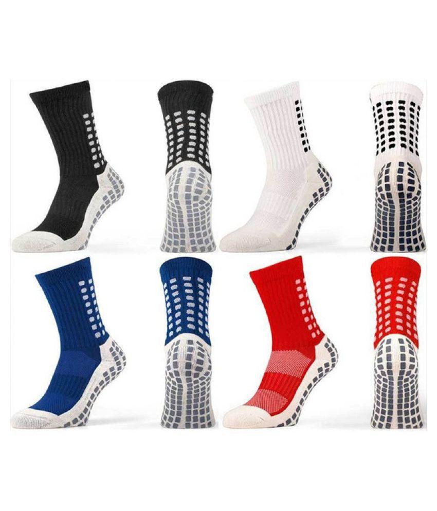 67598b745dd3 ... Trusox Tocksox Style Anti Slip Football Soccer Sports Socks Adults Uni  Mens ...