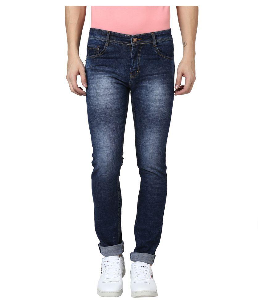 BUKKL Blue Slim Jeans