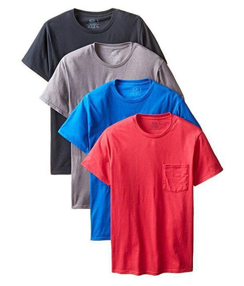 Duomu brown Round T-Shirt
