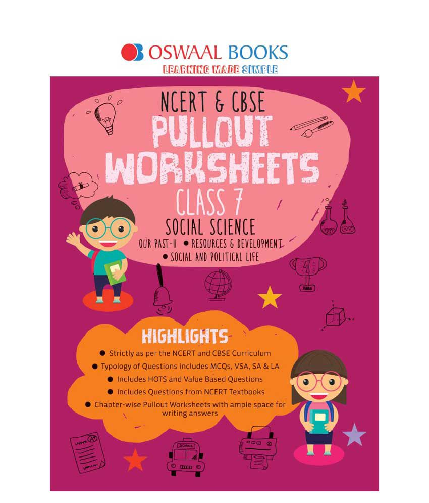 Oswaal Ncert Cbse Pullout Worksheet Class 7 Social Science For