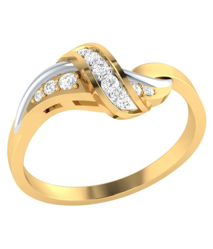 Animas Jewels 92.5 Diamonds Ring