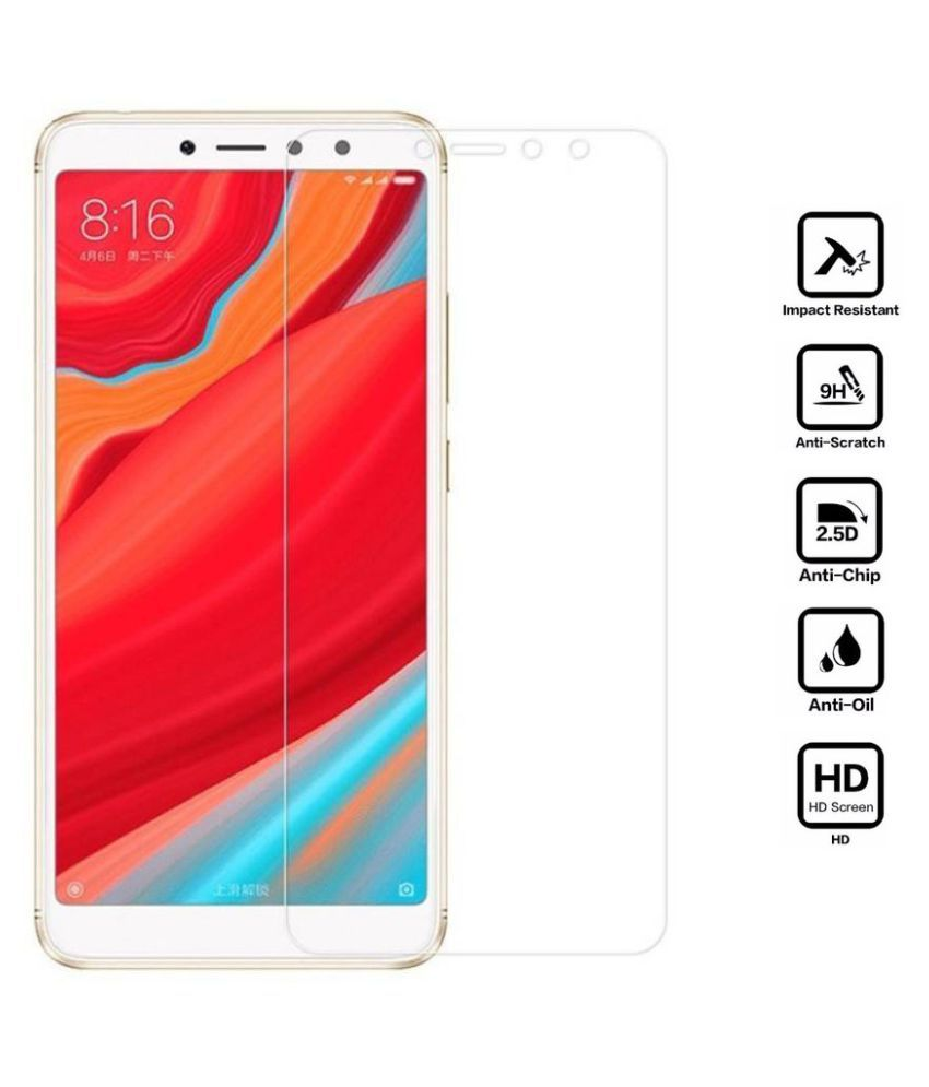 Xiaomi Redmi Y2 Tempered Glass Screen Guard By MAXX3D