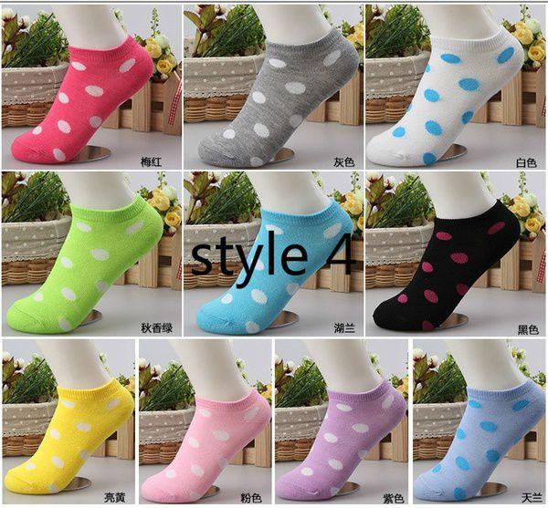 10Pcs=5pairs summer winter spring autumn Women Cute Socks Slippers Boat Socks Candy Color Cotton Socks