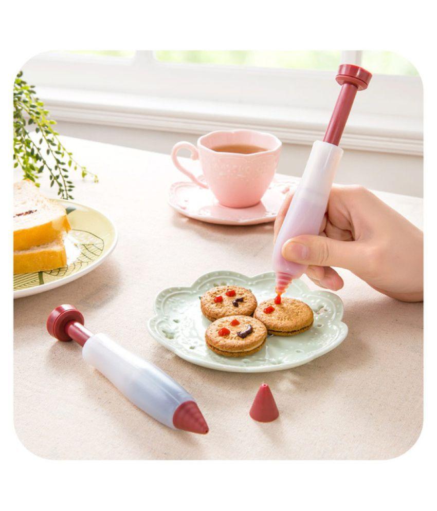1Pc Food Cake Drawing Writing Pen Cream Cup Chocolate