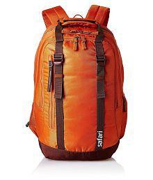 Safari Orange Railroad Backpack