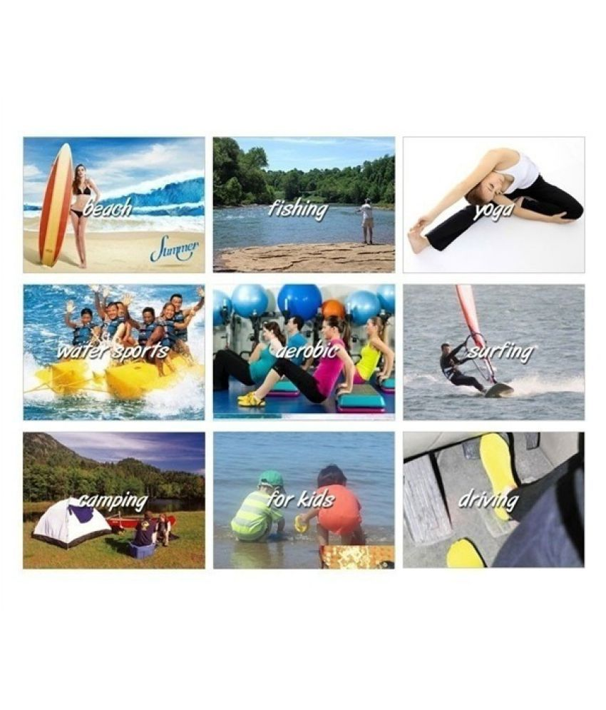 Unisex Barefoot Snorkeling Equipment Thickening Non-slip Diving Beachsock Yoga Shoes Aqua Socks Shoe Water Shoes