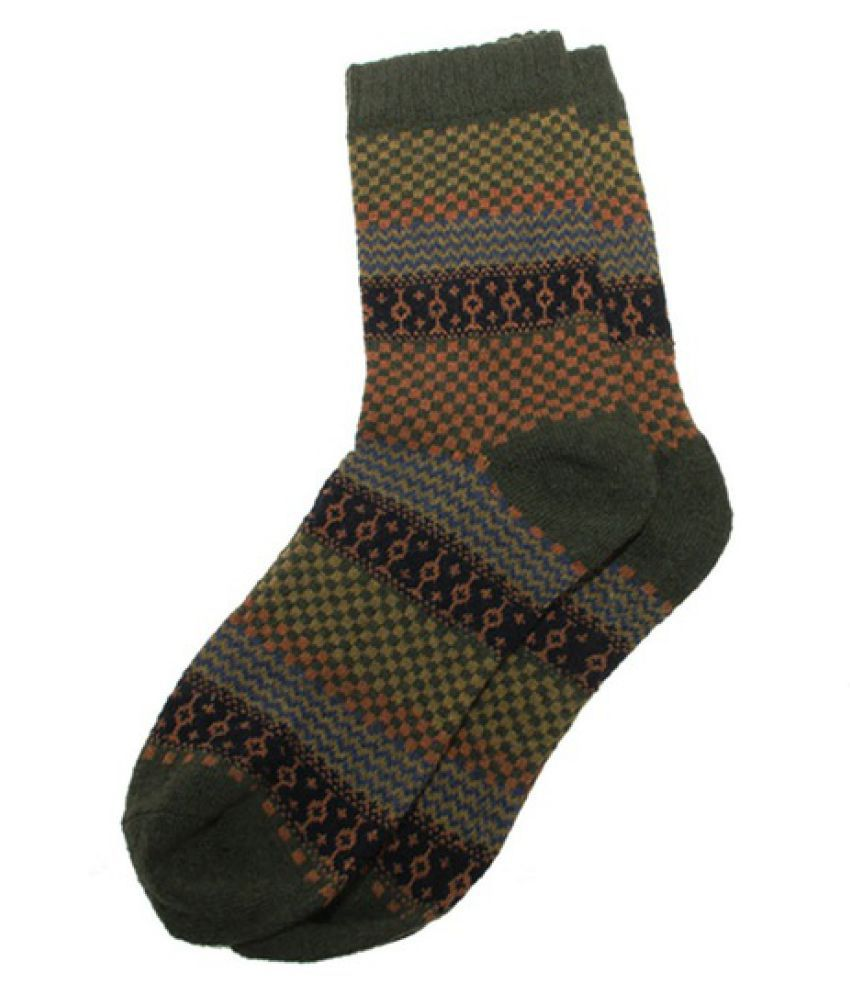 Vintage Men's Warm Winter Thick Wool Mixture Soft Cashmere Casual Dress Socks ORP
