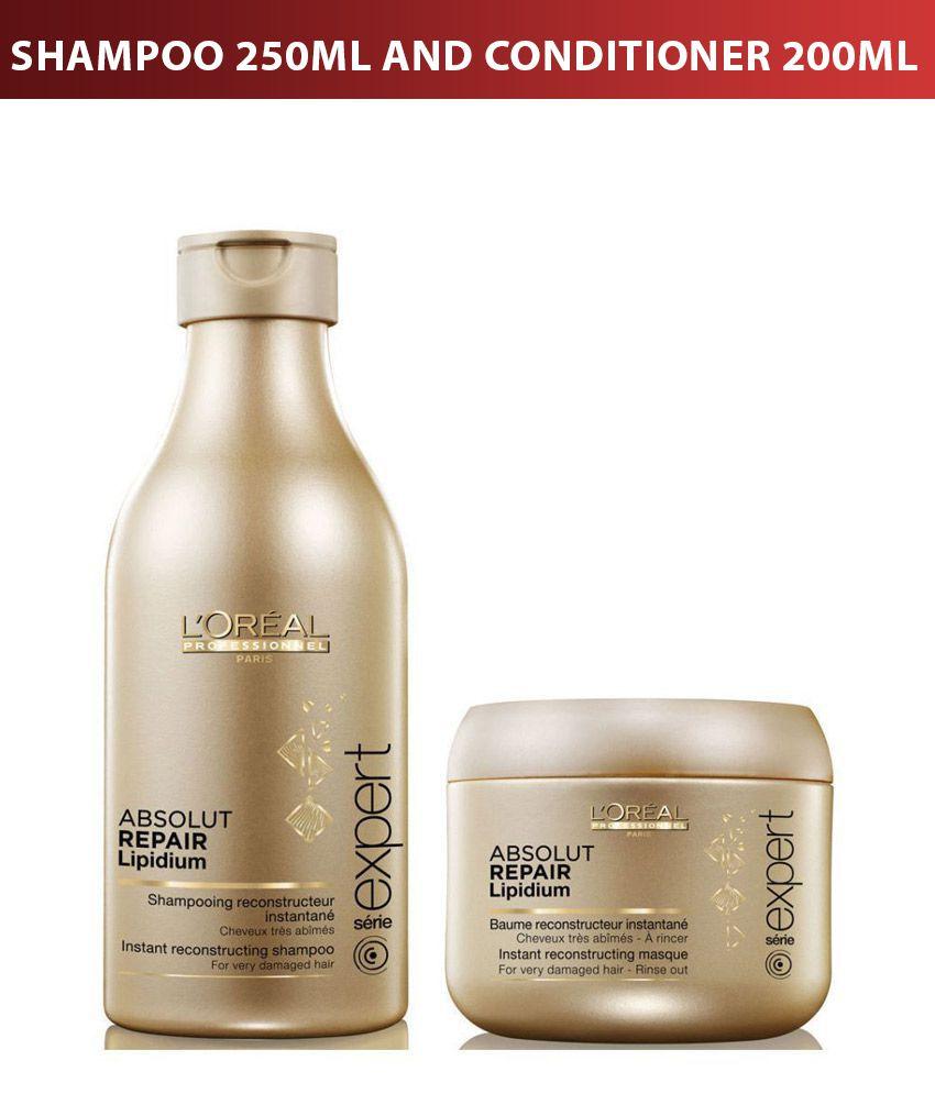 l oreal professional absolut repair lipidium shampoo 250ml