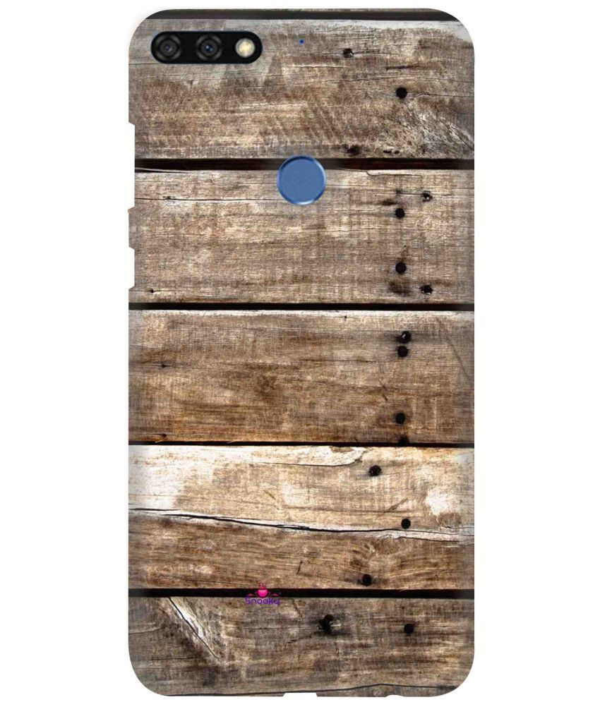 Huawei Honor 7C Printed Cover By snooky