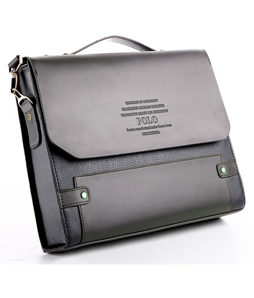 Guru Brown Medium Briefcase
