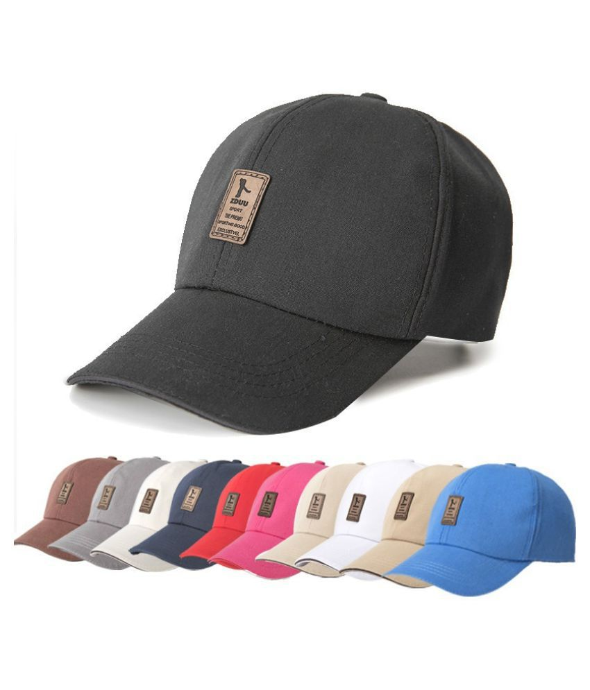 359b0760cbe Fashion Cotton Golf Outdoor Sun Sports Hat Men Women Colorful Baseball Cap  With Popular Design  Buy Online at Low Price in India - Snapdeal