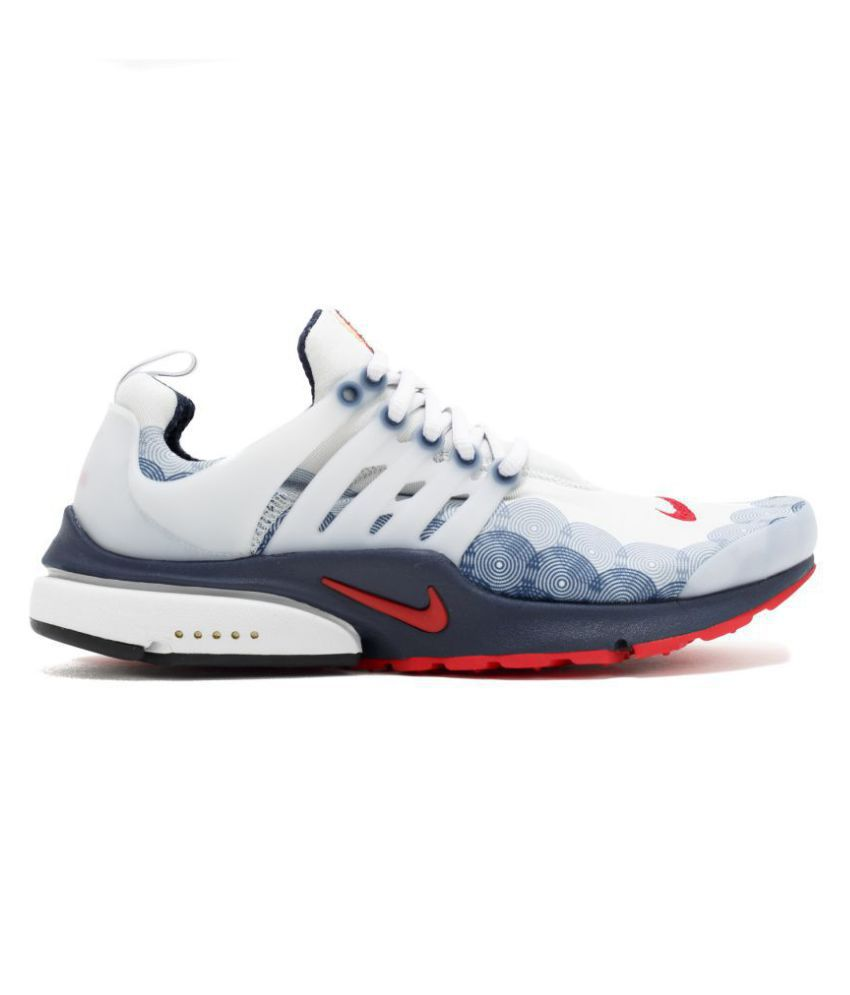 promo code dba0b 15a82 Nike Nike Air Presto Olympic USA White Running Shoes - Buy Nike Nike Air  Presto Olympic USA White Running Shoes Online at Best Prices in India on  Snapdeal