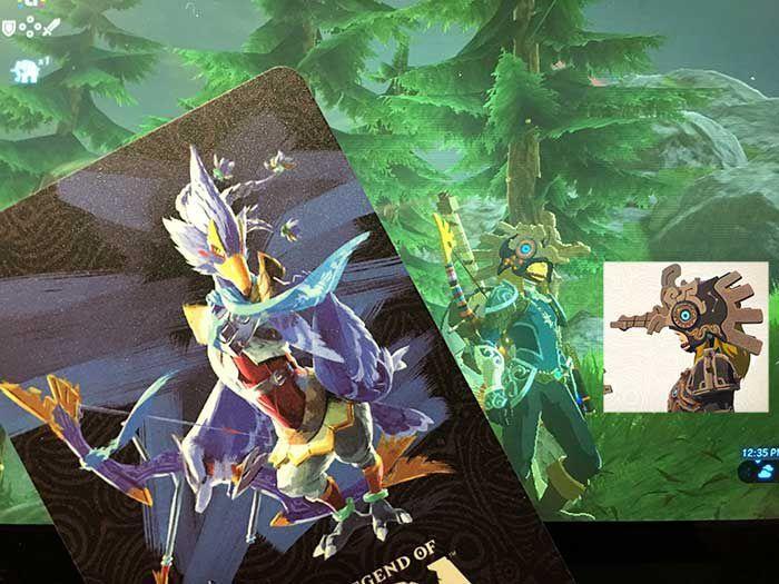 New 4pcs Champion Mipha Urbosa Revali Daruk Zelda BOTW Amiibo NFC