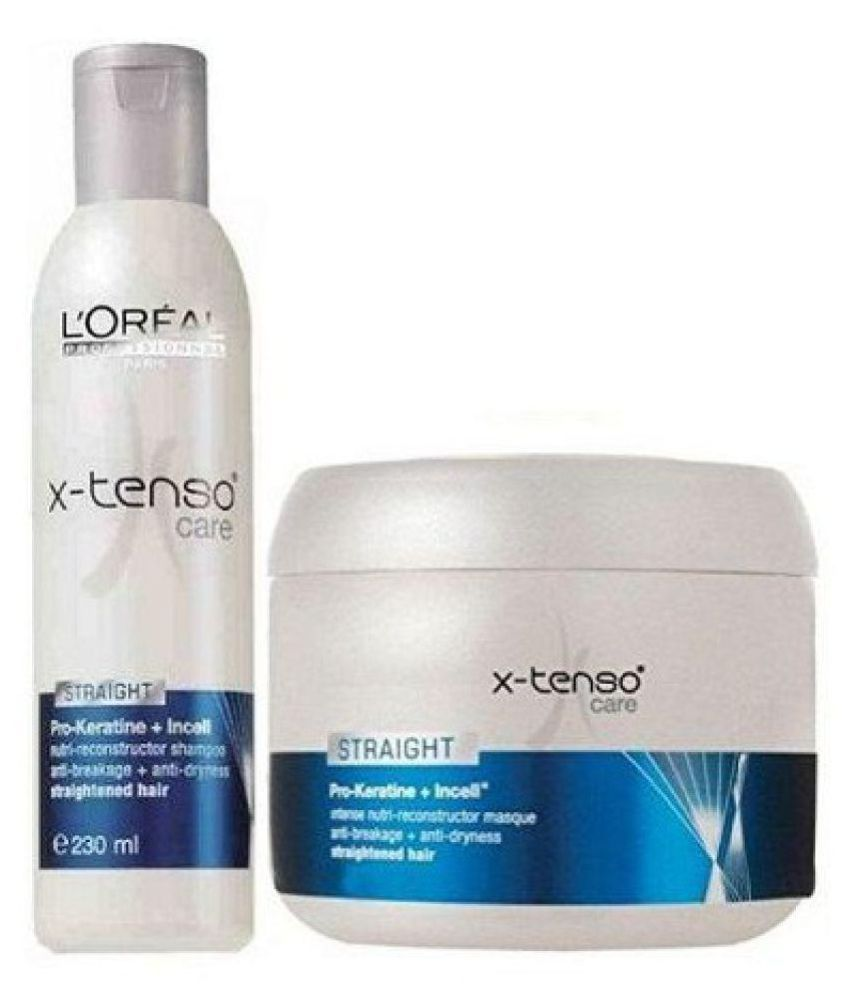 54161046a69 L oreal Professional X-Tenso Care Shampoo + Conditioner 230 gm  Buy ...