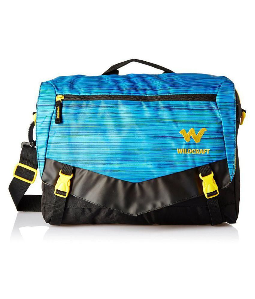 18f5ead816 Wildcraft Blue Polyester Casual Messenger Bag - Buy Wildcraft Blue  Polyester Casual Messenger Bag Online at Low Price - Snapdeal