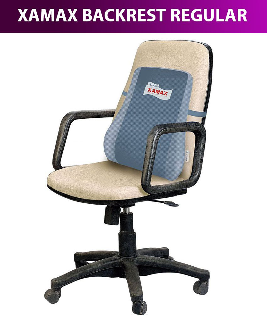 xamax backrest executive color may vary buy xamax backrest rh snapdeal com