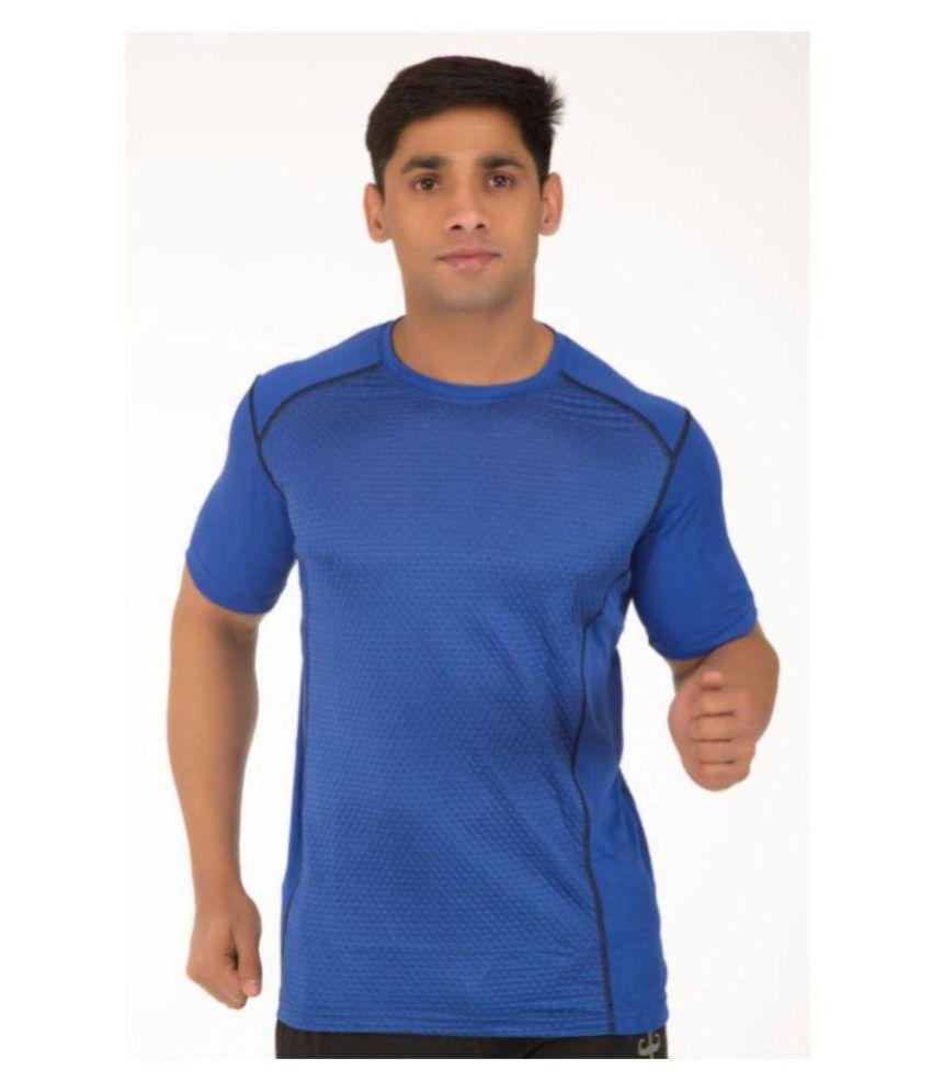 Klothoflex Blue gym Tshirt