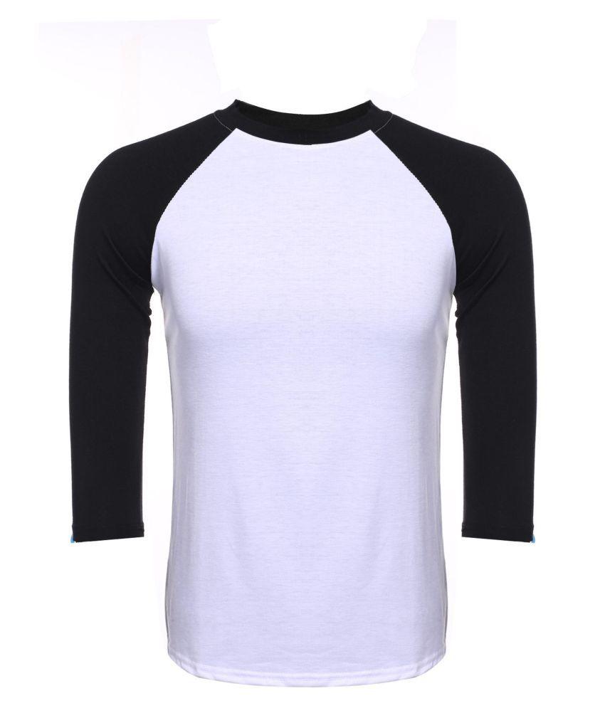 Generic Black Henley T-Shirt