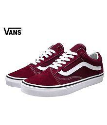 VANS OLD SKOOL Sneakers Maroon Casual Shoes