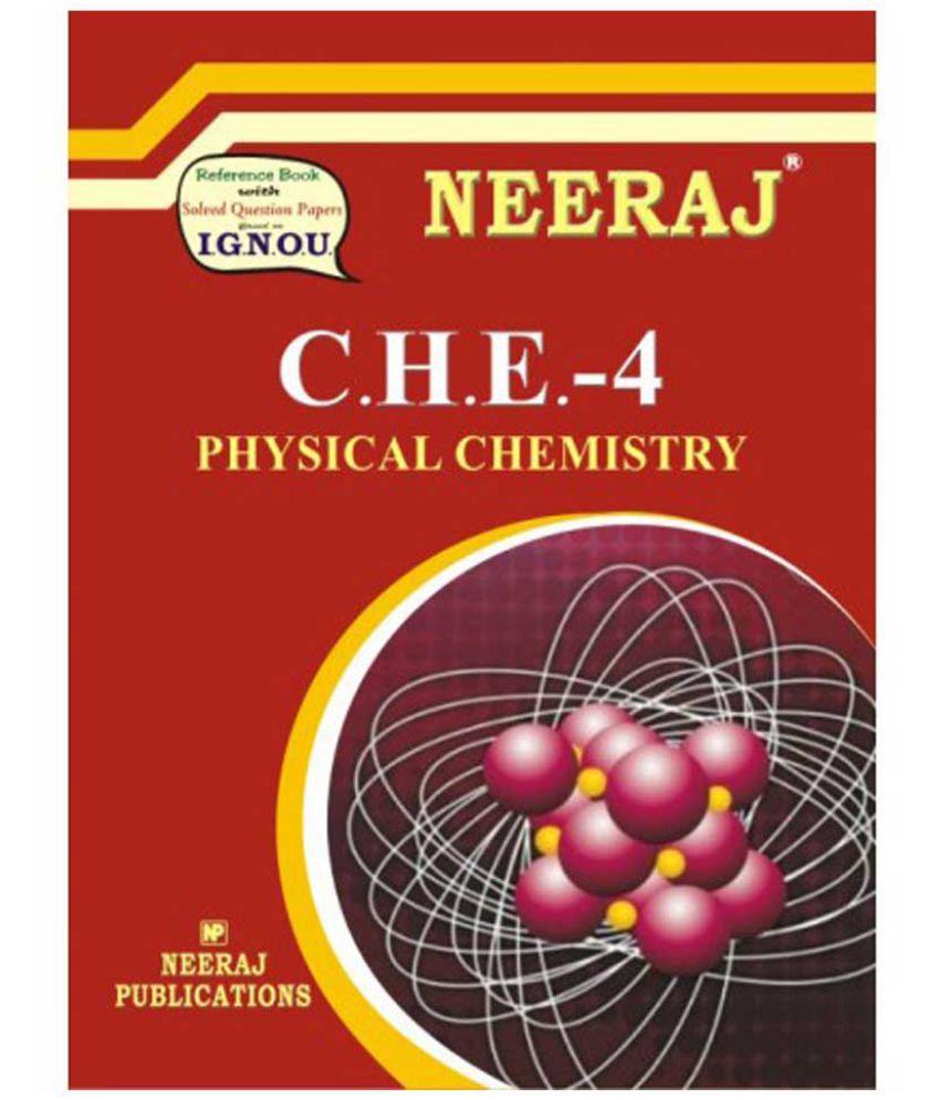 IGNOU CHE-4 Physical Chemistry(B.Sc)