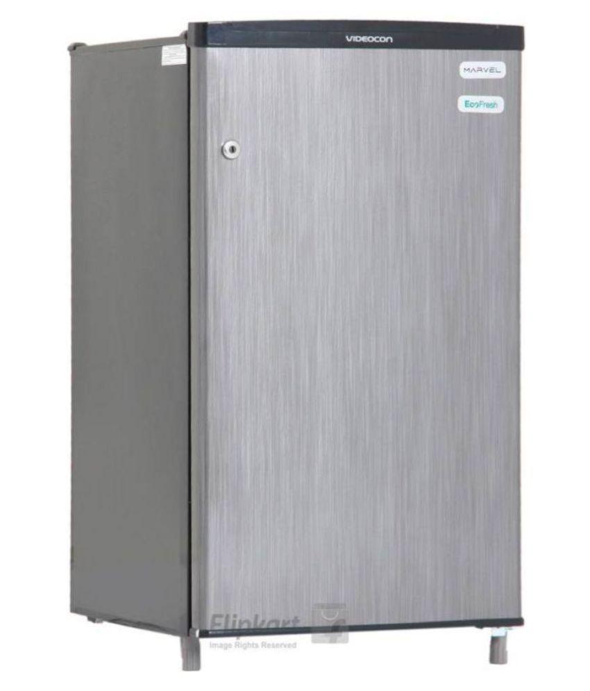 Videocon 80 Ltr 1 Star vc091pnsh-hdw Single Door Refrigerator - Gray