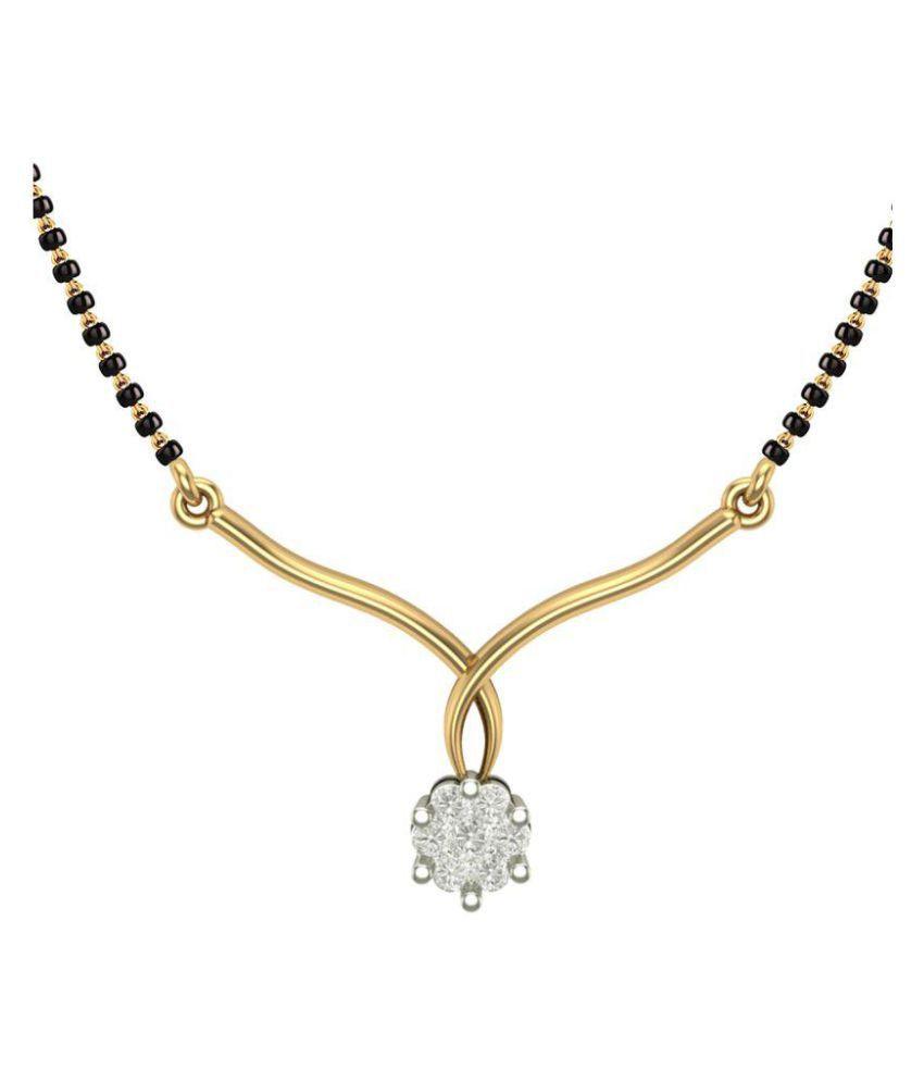 Dishis Designer Jewellery 18k Yellow Gold Mangalsutra