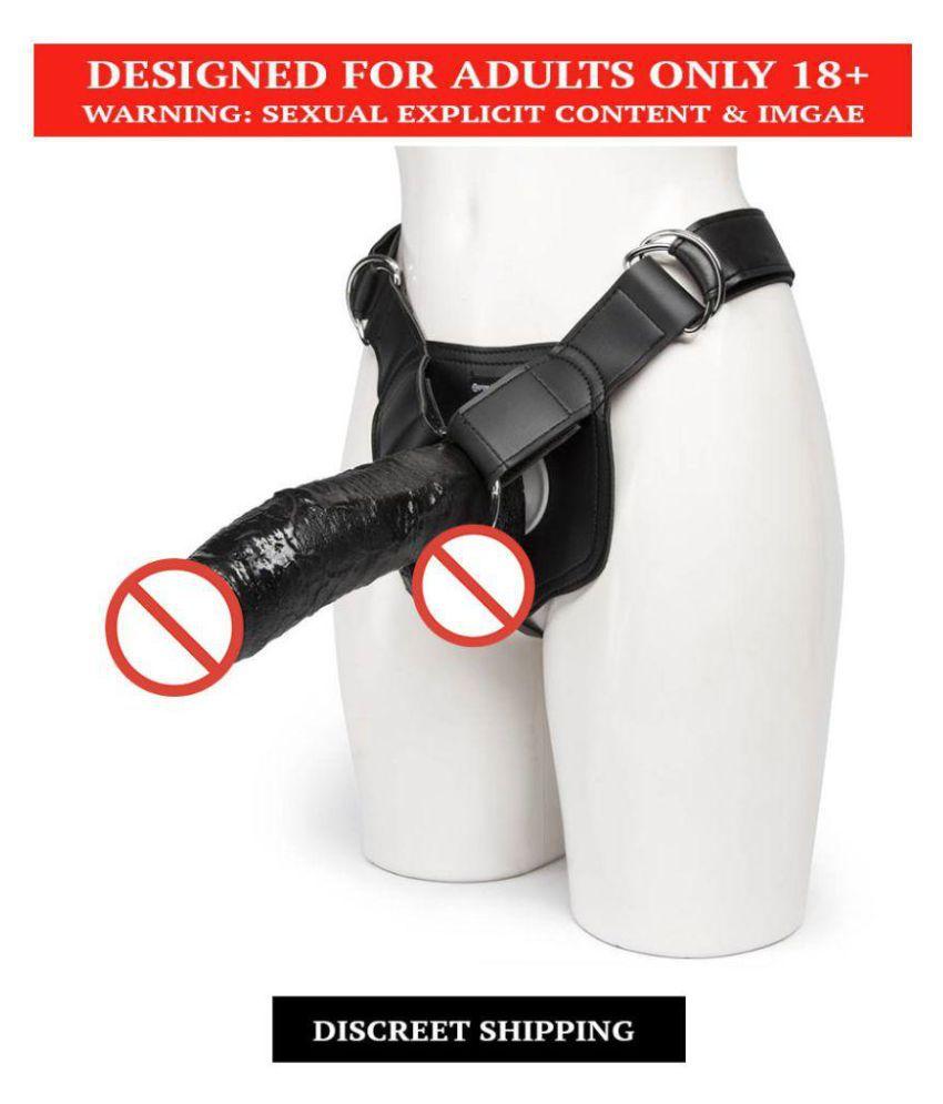 Black Hollow Strap On Vibrating: Buy Black Hollow Strap On