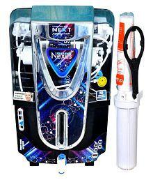NEXUS PURE JAZZ BLACK Copper + Alkaline 10 Ltr RO + UV + UF + TDS CONTROLLER Water Purifier