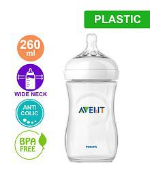 Philips Avent Natural Bottle 260ml (Single Pack) for New Born Baby