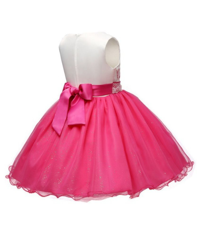 1f0e90ae678 Baby Girls Flower Girl Princess Dress Girl s Red Tulle Dress Fashion  Children Summer Lace Chiffon Dresses ...