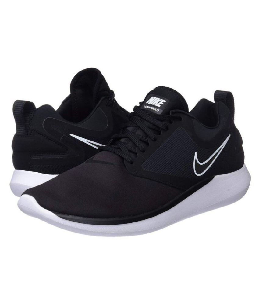 Nike Lunarsolo Black Running Shoes - Buy Nike Lunarsolo Black Running Shoes  Online at Best Prices in India on Snapdeal 3b20a363b
