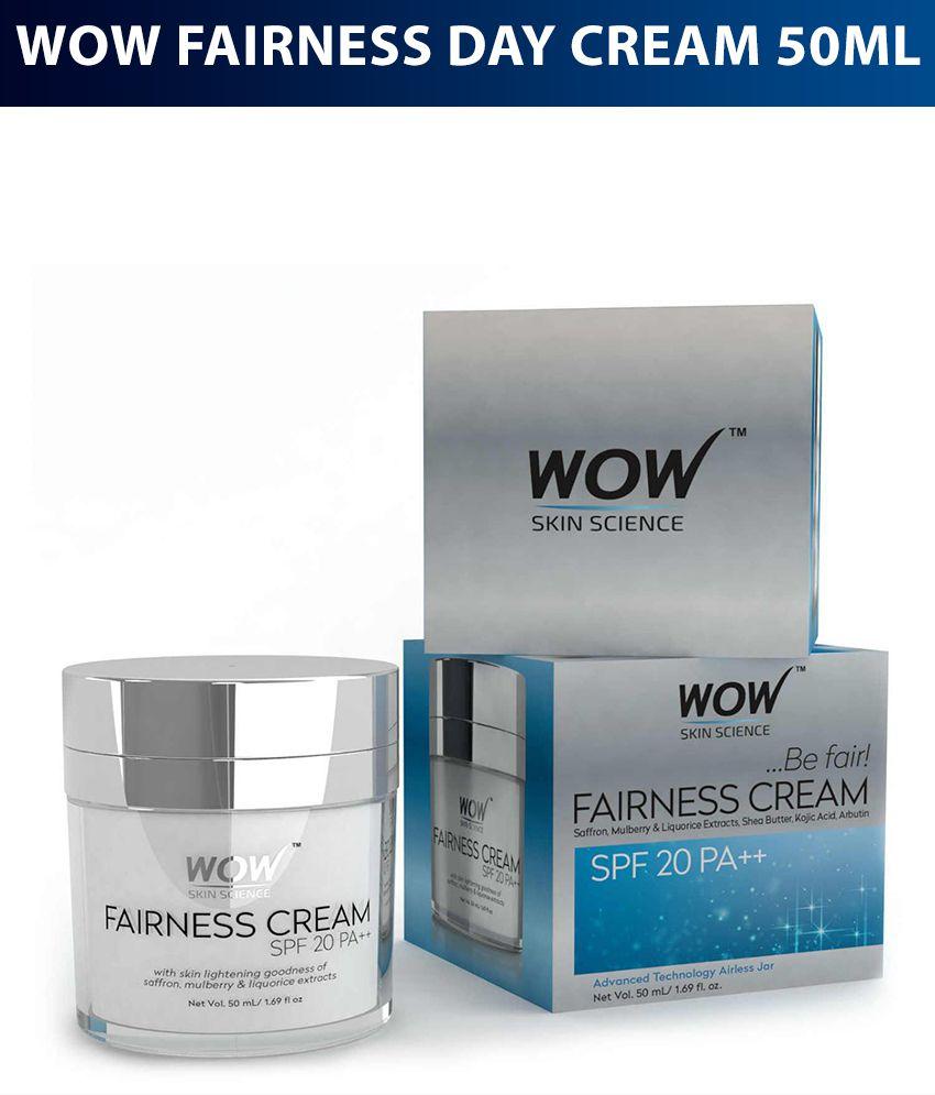 WOW Skin Science Fairness Cream SPF 20 PA++ Day Cream 50 ml