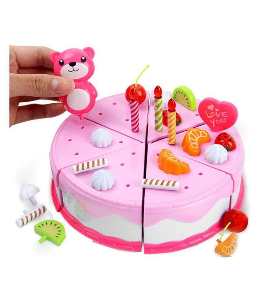 Webby Musical DIY Birthday Cake Toy 37 Pieces