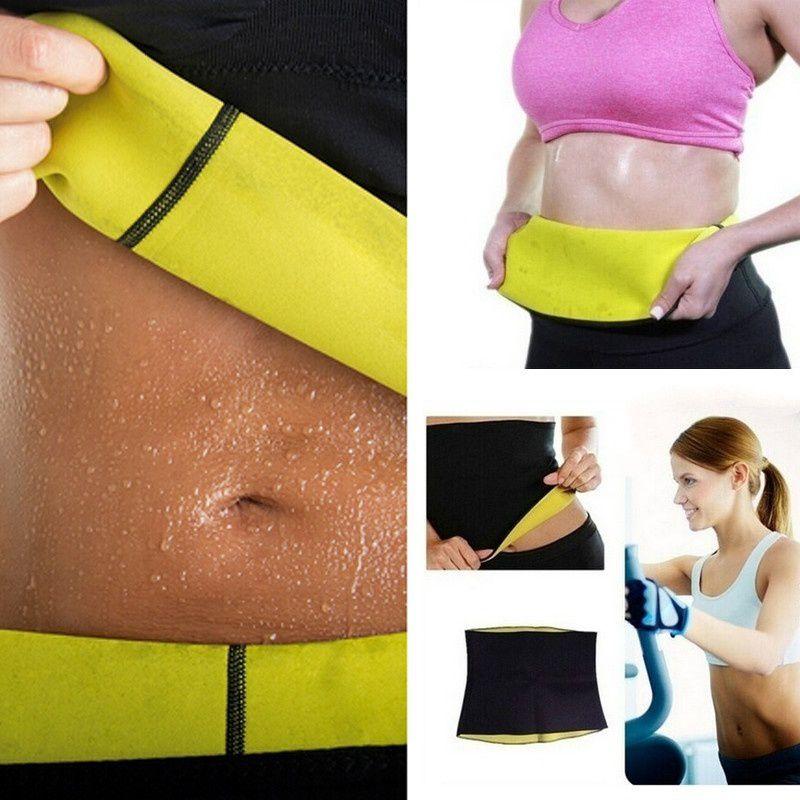 256bddc550a FeelinGirlJOYMODE Hot Shapers Neoprene Thermal Slimming Waist Belt Shaper  Sauna Fitness Slimming Workout Pants Women Body Shaper Sports Vest - Buy ...