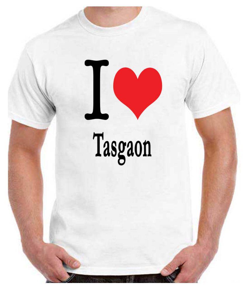 RITZEES White Dry-Fit Polyester Tshirt on I Love Tasgaon
