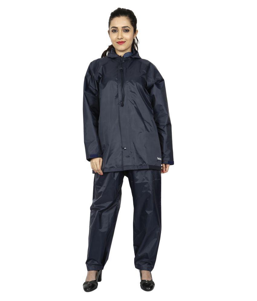 Reliable PVC Raincoat Set - Blue
