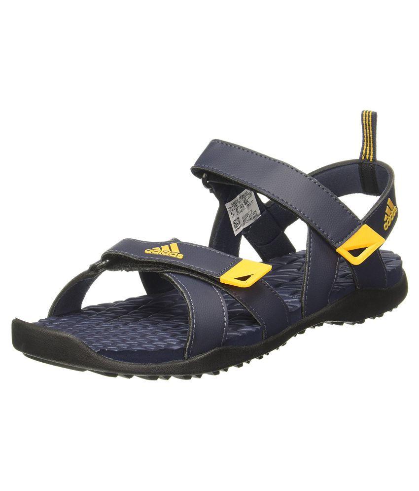 85dc2413e3a32 Adidas ALSEK 2017 M Navy Sandals Price in India- Buy Adidas ALSEK 2017 M  Navy Sandals Online at Snapdeal