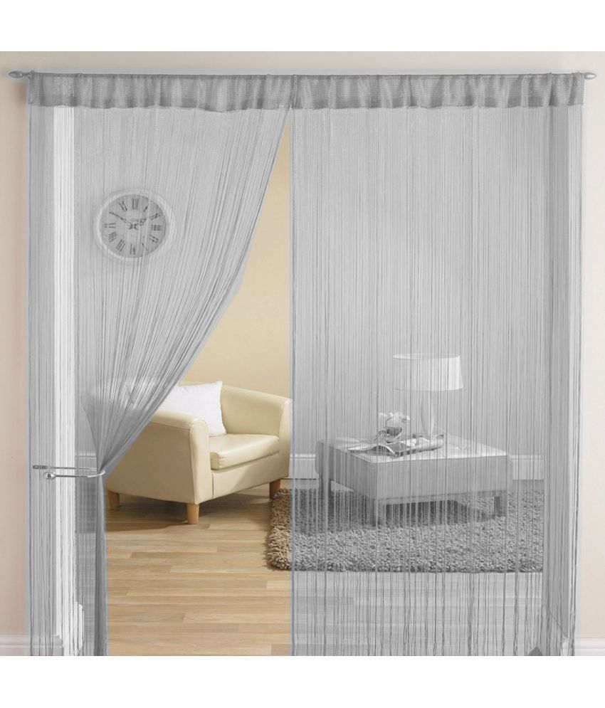 Homefab India Set of 2 Long Door Others String Curtain