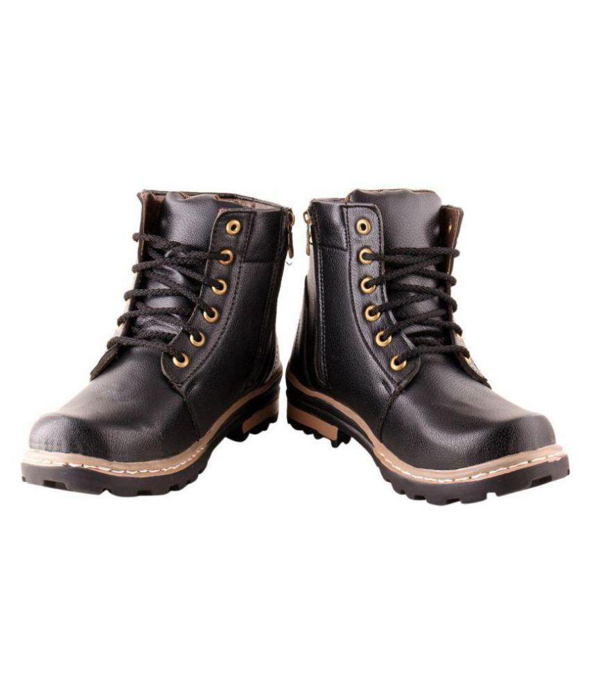 Leoport Brown Formal Boot